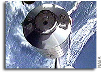 Space Shuttle Return to Flight Provides for Space Station Resupply, Science