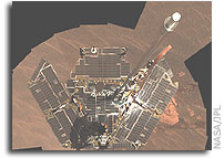 NASA Opportunity Mars Rover Self-Portrait