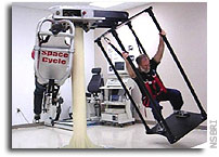 Space Cycle tests artificial gravity as solution to muscle loss