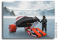 Antarctic Concept Vehicle Unveiled