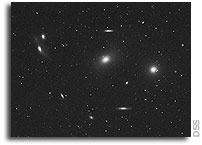 Virgo image gives evidence of violent life, death of cluster galaxies