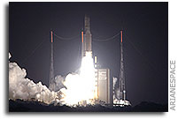 Ariane 5 completes another successful year of launches with an on-target dual-satellite mission