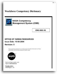 NASA Workforce Competency Dictionary