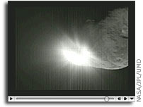 Deep Impact Movie: Impactor Slams into Comet Tempel 1