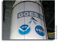 NOAA Announces Impending Launch of GOES-N Spacecraft