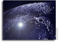 NASA Astronomers Spot Rare Lunar Meteor Strike