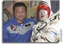 McDonald's Honors NASA Astronaut Dr. Leroy Chiao for Mission Accomplished