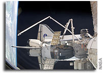 NASA STS-114 Mission Status Report #18 - 3 August 2005 - 11:00 pm CDT
