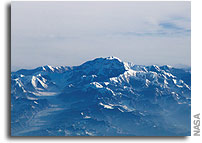 NASA Space Station Image of Denali (Mt. McKinley)