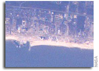 NASA Astronaut Captures Images of Hurricane Katrina Damage