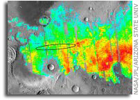 ASU geologists suggest Mars features are result of meteorite strikes, not of evaporated lakes