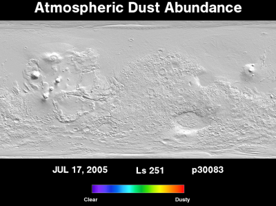 Orbit 30083dust map