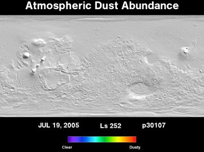 Orbit 30107dust map