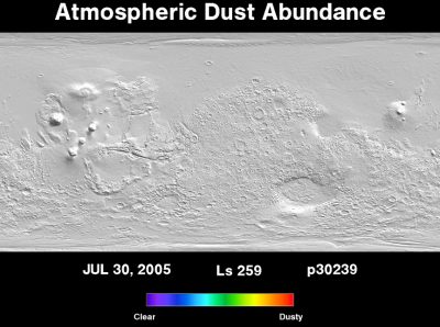 Orbit 30239dust map