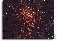 Young and Exotic Stellar Zoo -  ESO's Telescopes Uncover Super Star Cluster in the Milky Way