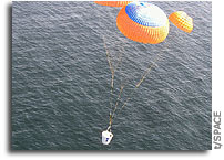 Next-Generation Space Vehicle Tested in Pacific Ocean Drop