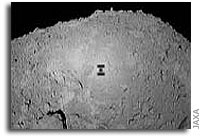 Hayabusa approaches within 70 meters of asteroid Itokawa