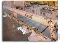NASA Appoints Board to Investigate Shuttle Arm Incident