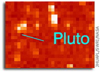 New Horizons Gets First Glimpse of Pluto