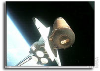 NASA Releases Movie of STS-121 Solid Rocket Booster Separation As Viewed From A Camera On A SRB