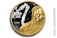 Royal Canadian Mint Presents its New Collector Coins to Canadian Astronaut Chris Hadfield