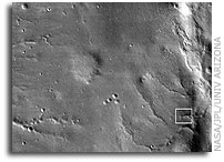 First Mars Image from Newly Arrived Camera on NASA Mars Reconnaissance Orbiter