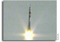 Expedition 13 Crew Lifts Off from Baikonur Cosmodrome