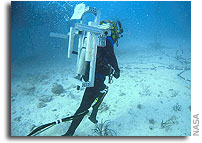 NASA NEEMO 9 Mission Journal - Mission Day 6 - Saturday, April 8, 2006