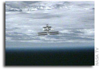 Space Shuttle Discovery Undocks From International Space Station