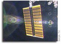 STS-115 Crew Unfurls Station Arrays
