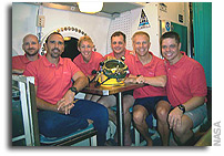 NEEMO 11 Mission Day 6: Crew Journal Thursday, Sept. 21, 2006 Mission Day 6