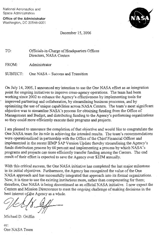 Nasa Watch Internet Policies Archives