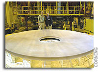 Lowell Observatory, UA Optical Sciences to Complete Discovery Channel Telescope Primary Mirror