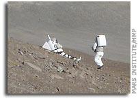 Mars Institute HMP EVA Medical Evacuation Simulation Update 1 August 206