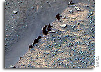 Soggy Sands of Mars?
