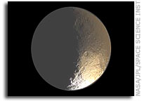 Iapetus - From Dark to Bright and Red to White
