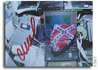 How Did A Confederate Flag Get Aboard the International Space Station?