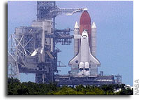 NASA Scrubs Shuttle Launch For A Second Time