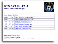 NASA STS-121/ULF1.1 FD 05 Execute Package