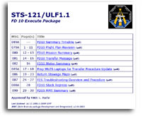 NASA STS-121/ULF1.1 FD 10 Execute Package