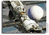 Russian Space Agency Confirms Green Light for E21 Golf Company Golf Shot in Space