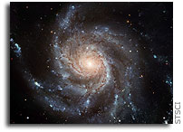 Photo release: Largest ever galaxy portrait - stunning HD image of Pinwheel Galaxy