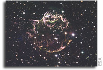 Cassiopeia A - The Colorful Aftermath of a Violent Stellar Death