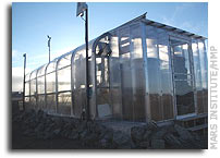 Research Activities in the Arthur Clarke Mars Greenhouse - July 2006 Update