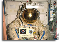 An Empty Spacesuit Becomes an Orbital Experiment