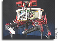 NASA JPL's Limber Robot Might Hitchhike to Space