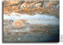 NASA Hubble Telescope Snaps Baby Pictures of Jupiter's Red Spot