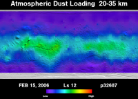 Orbit 32687 dust map