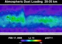 Orbit 32711 dust map