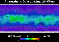 Orbit 32795 dust map